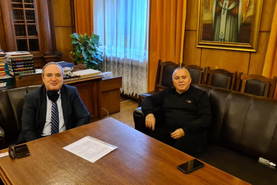 Meeting with Rector of Sofia University Prof. ANASTAS GERDJIKOV