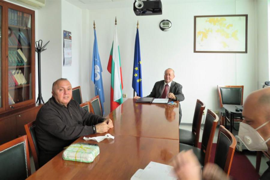 Year 2021 meeting with our distinguished Bulgarian partners