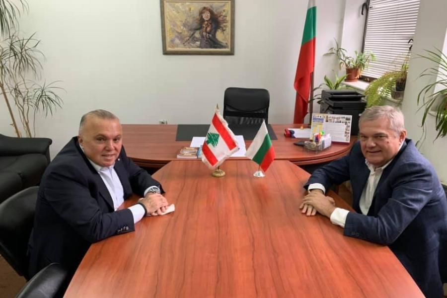 Meetings with Bulgarian officials and distinguished Business leaders